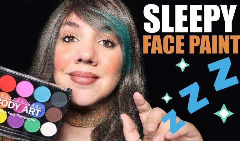 ASMR Makeup Face Painting Roleplay