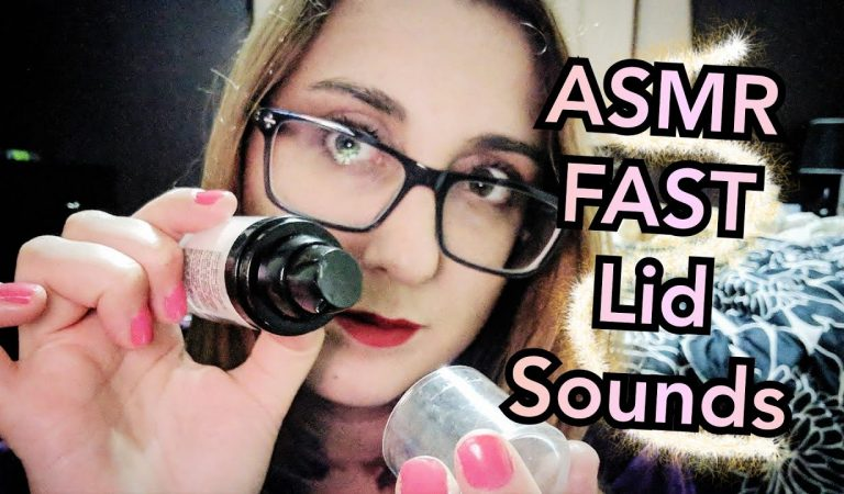 ASMR Fast Lid Sounds ~ Tapping, Jangling, Fiddling  (Scout Custom)