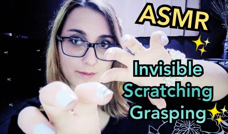 ASMR Invisible Scratching, Grasping Objects (Alyssa Custom)