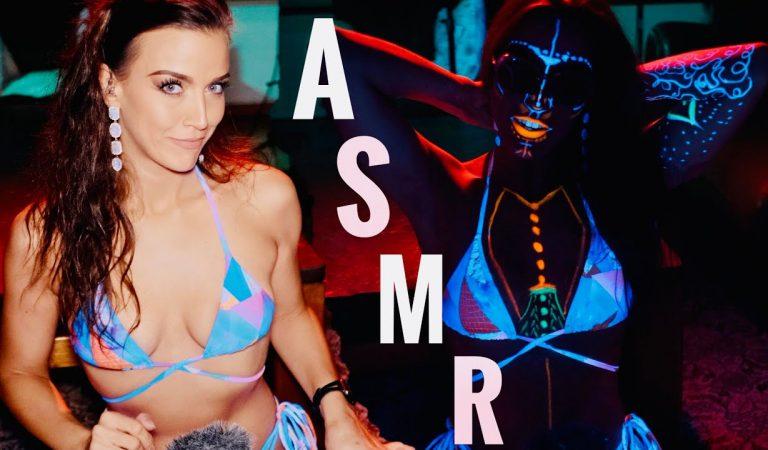 ASMR Gina Carla 💜 Painting on Me!