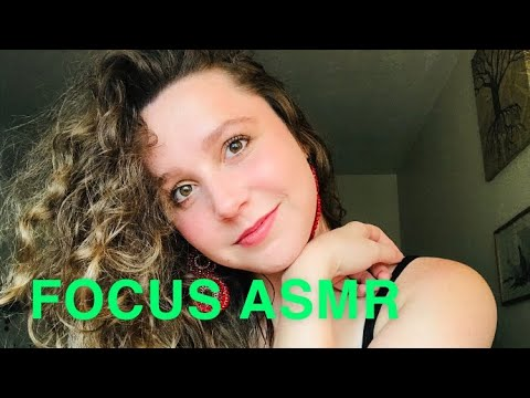 Pay Attention/Focus ASMR (Fast and Aggressive hand movements+sounds)