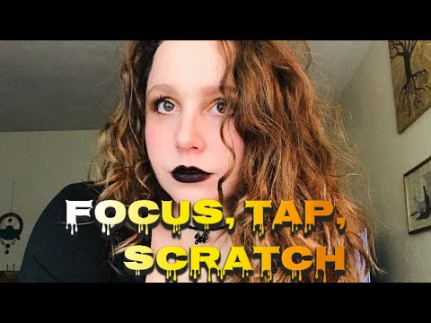 FAST Hand Sounds, Focus, Tapping and Scratching ASMR (Michael custom)