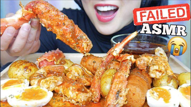 Asmr Seafood Boil Failed Eating Sounds Minimal Talking Sas Asmr Asmrhd Asmr spicy thai seafood boil eating sounds sas asmr. asmrhd