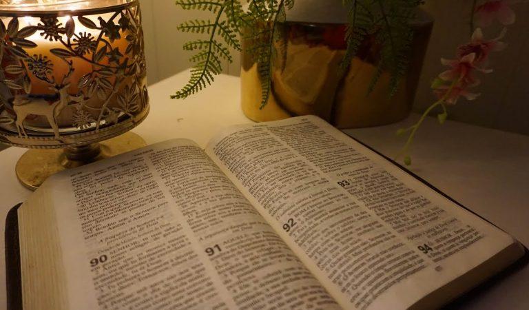 ASMR Lendo os Salmos Ao Sons de Chuva #VozSuave #ASMRdeJesus #SomdeChuva
