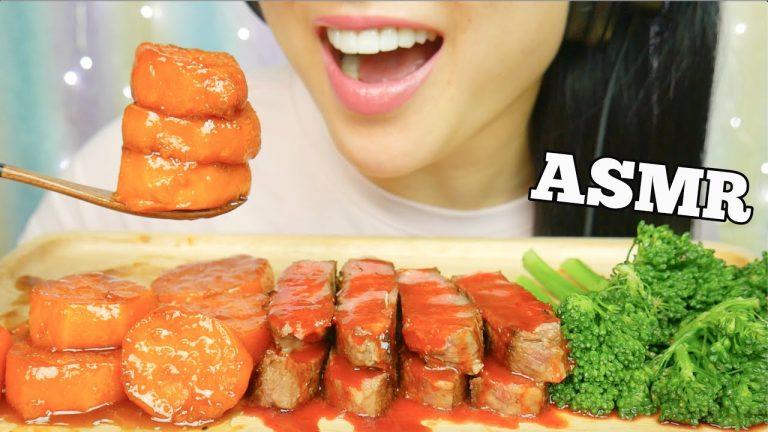 Asmr Steak Candied Yams Eating Sounds No Talking Sas Asmr Asmrhd See more of sas asmr new on facebook. asmrhd