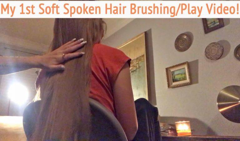 ASMR * Hair Brushing * Soft Spoken * Hair Play * Head Scratching * Brush Tapping * ASMRVilla