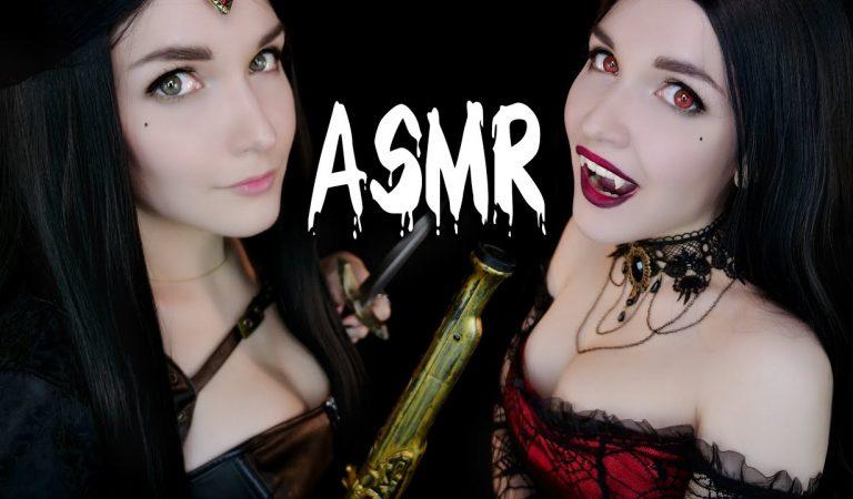 АСМР [RP] Охотник на вампира 🧛♀🗡️ ASMR Vampire Hunter 🕷️