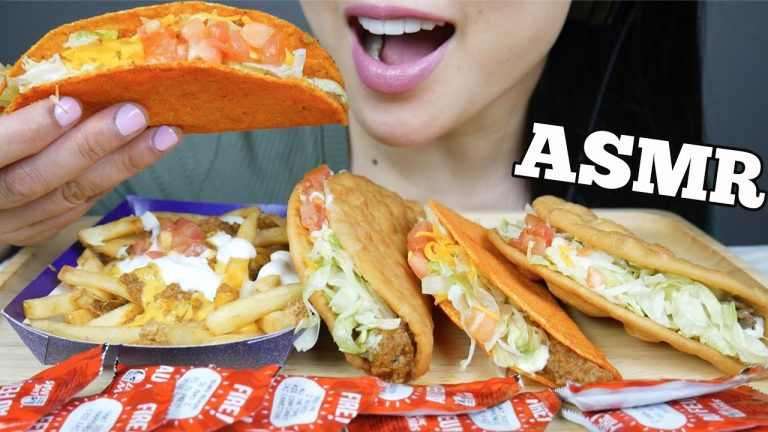 Asmr Taco Bell Eating Sounds No Talking Sas Asmr Asmrhd One of the very first asmr eating videos i ever saw was suellasmr doing an onion ring asmr video. asmrhd
