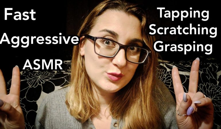 ASMR Fast Aggressive Tapping Scratching Grasping