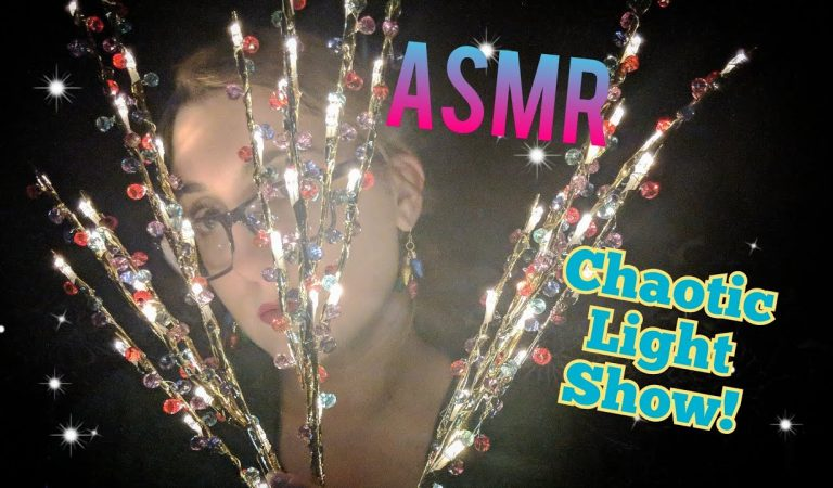 ASMR Beautiful, Fast & Chaotic Light Show! Don't Miss This Video!!