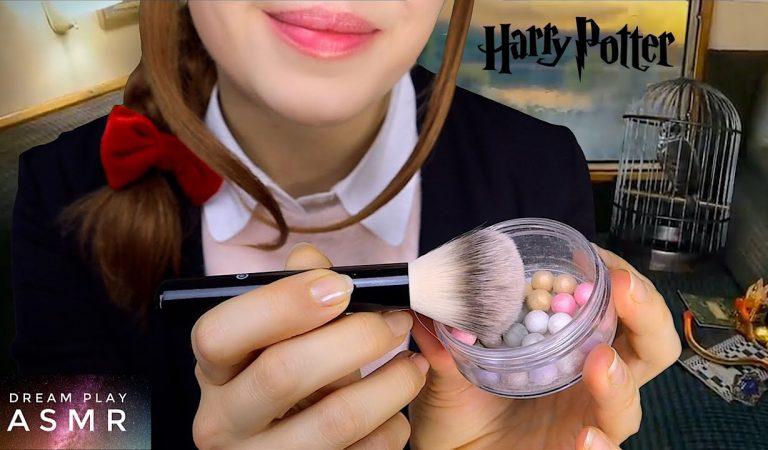 2 ★ASMR★ Dein Makeup Touch Up im Hogwarts Express | Dream Play ASMR