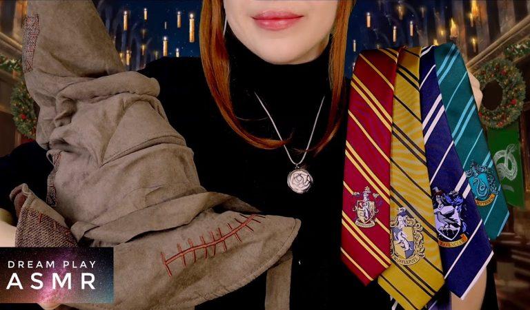 3 ★ASMR★ Welches Hogwarts Haus bist du? / bin ich? ❤️ 💛 💙 💚 Magische Zeremonie | Dream Play ASMR