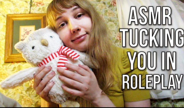 ASMR TUCKING YOU IN ~ Mommy / Babysitting COMFORT ROLEPLAY (Reading Stories, Lullabies, etc.)