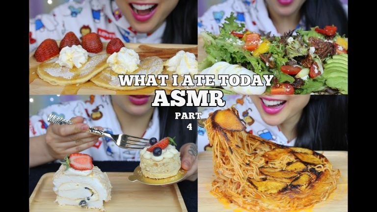 Iizzxkoraih6sm These footages do not belong to me all credit goes to the owners of it. https www asmrhd com asmr what i ate today part 4 eating sounds no talking sas asmr