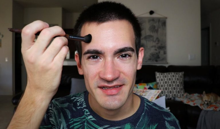 Brushing My Face Gently for Your ASMR