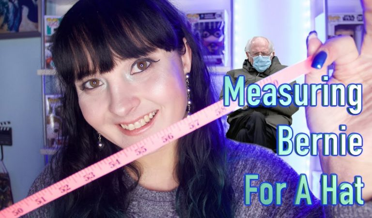 Measuring Bernie For A Hat [ASMR Role Play] 🎩