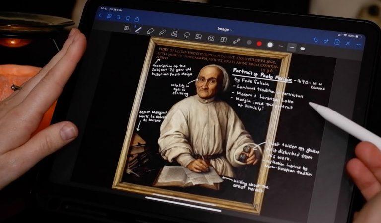 ASMR – iPad ASMR – Whispered Art Appreciation (Daily Art App – 24th Feb 2021)