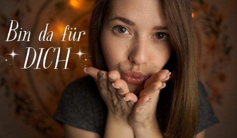 [ASMR] CLOSE UP ENTSPANNUNG gegen deine ANGST und SCHLAFPROBLEME ♡ Personal Attention ♡ Deutsch