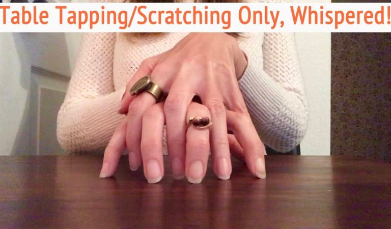 ASMR * Wooden Table Tapping & Scratching! * Fast Tapping * Natural Nails * Whispering * ASMRVilla