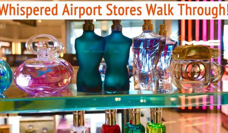 ASMR * Whispering through Duty Free Shops in USA & Germany Airports * ASMRVilla