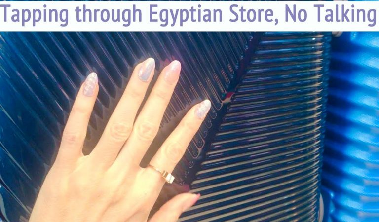 ASMR * Tapping through an Egyptian Store! * Fast Tapping & Scratching * No Talking * ASMRVilla