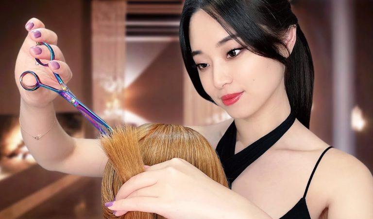 [ASMR] Sleep Inducing Haircut ~ Real Hair