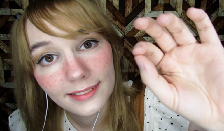 ASMR SOMETHING IN YOUR EYE, MAY I TOUCH YOU, INAUDIBLE WHISPER, PERSONAL ATTENTION, FACE TOUCHING