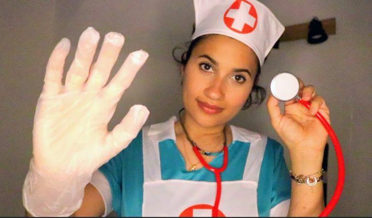 ASMR 👩🏻⚕️ Infirmière du SOMMEIL prend soin de toi