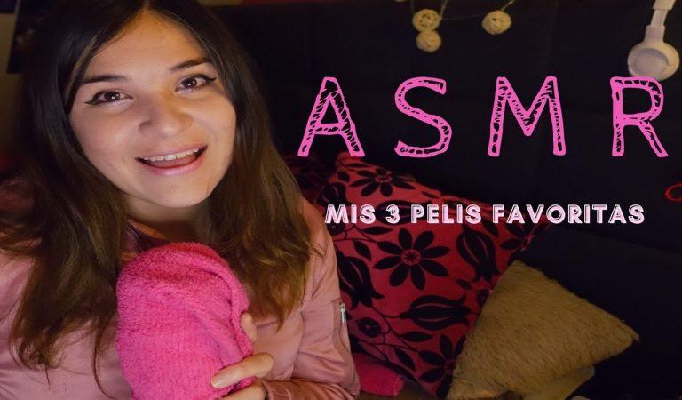 ASMR 💜: Mis 3 Películas Favoritaaas 💙💤