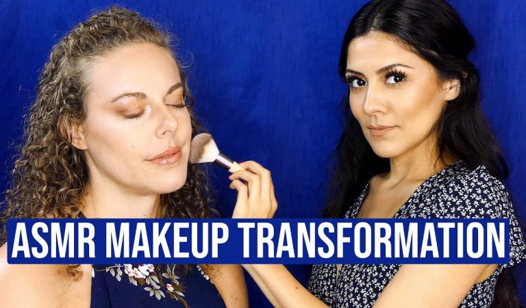 ASMR 💕 Beautiful Makeup Transformation (Face Brushing) 😱 1 Hour Ultra Relaxing