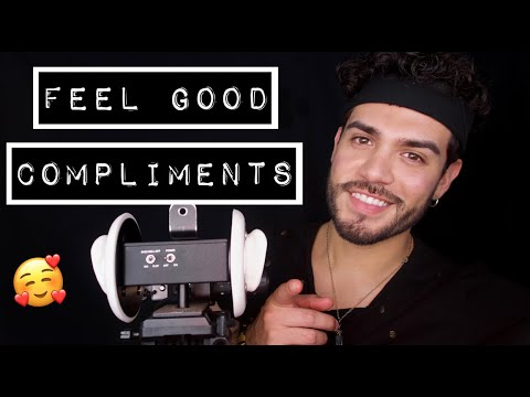 ASMR Besitos & Compliments! (male whispering)