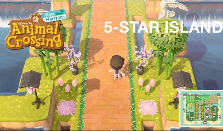 Play Animal Crossing with me! 5-star Island and house tour (soft spoken)
