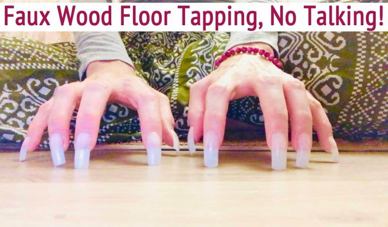 ASMR * Faux Wood Floor Tapping/Scratching * Fast Tapping & Scratching * No Talking * ASMRVilla