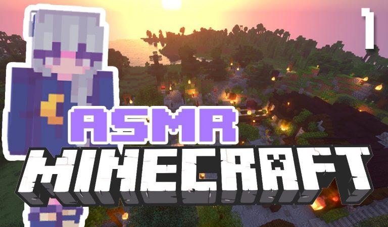 ASMR minecraft | Un nouveau monde 🌍🔥 L'aventure du dragon ~ GAMING asmr