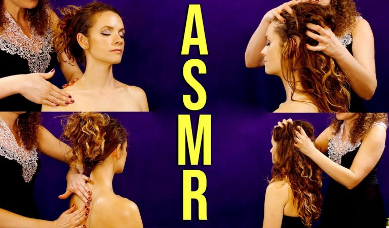 ASMR Scalp, Neck, Shoulders & Head Massage w/ Binaural Ear to Ear Whispering
