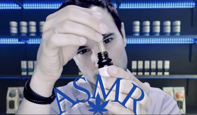 ASMR Le Vendeur de CBD (tapping, crinkles et flacons)