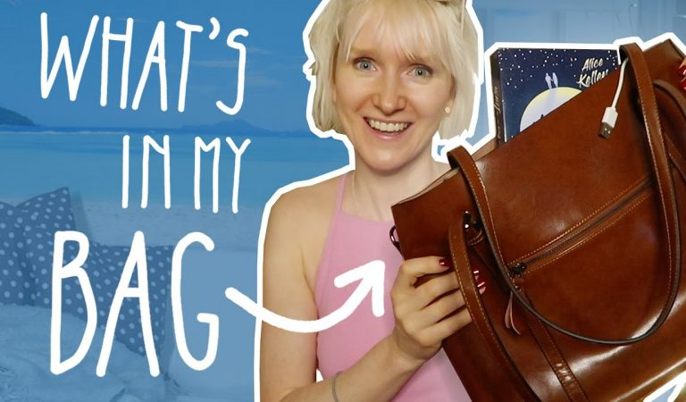 ASMR – What's in my bag? (Tapping, Sticky Sounds… sanfte Stimme)