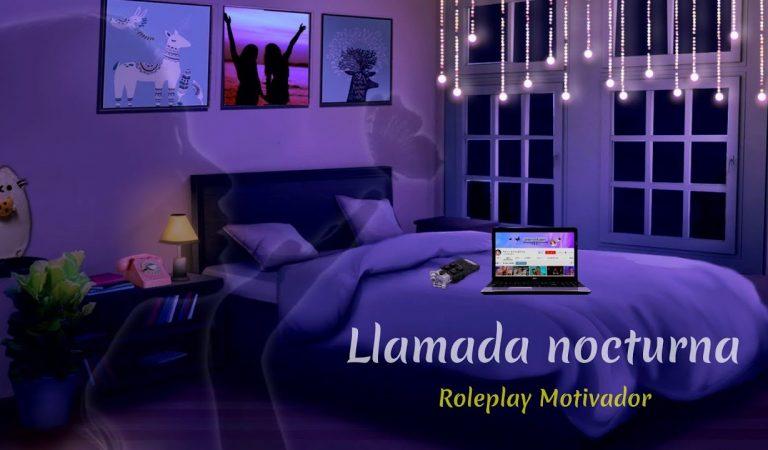 LLamada telefónica (Motivadora) | Ambiente |  SusurrosdelSurr ASMR |  Roleplay para dormir | Español