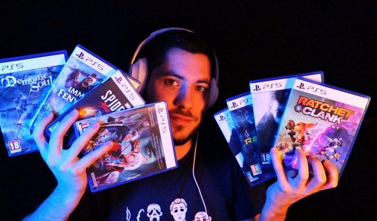 ASMR Voici tous mes jeux PS5 – Ultimate triggers chuchotement