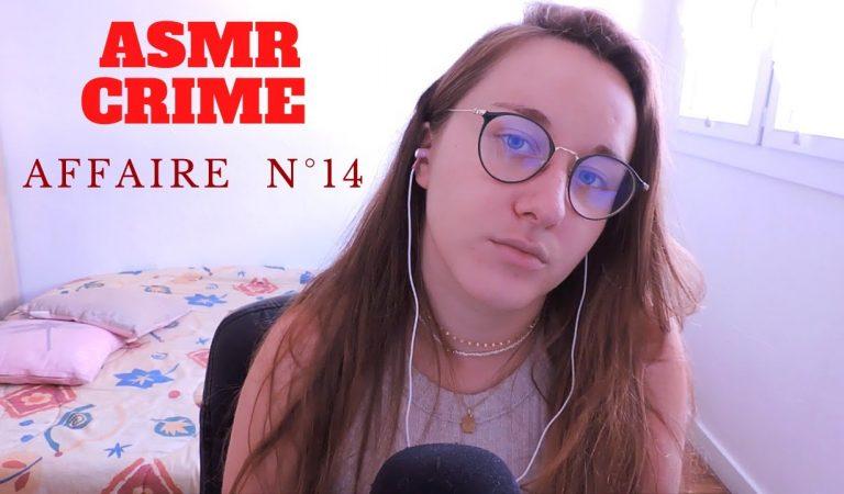 ASMR FR CRIME 💤  Affaire n°14 : Agnès Le Roux (chuchotements)