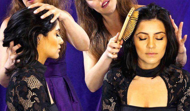 ASMR 💕 Gorgeous Hair Brushing Pamper & Scalp Massage with Courtney & Corrina