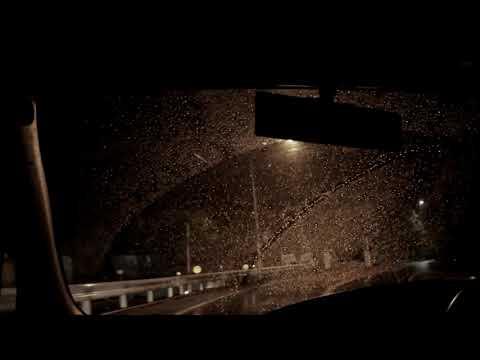 音質画質変更バージョン ASMR Rainy Night Drive 雨の夜のドライブ(峠) バイノーラルサウンド