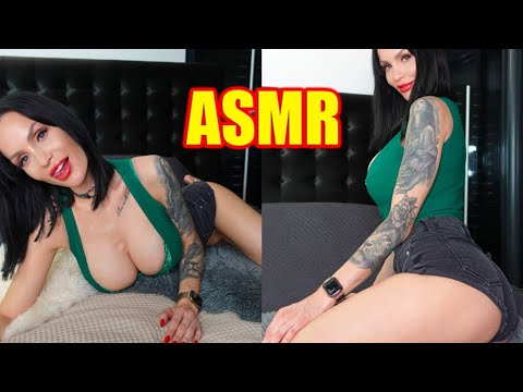 ASMR Girlfriend strokes and kisses you – Intimate Night soft Trigger to relax and fall asleep