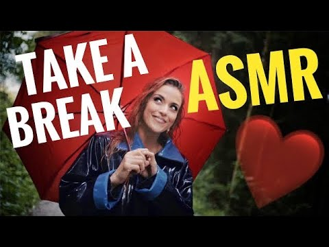 ASMR Gina Carla 😴 Walk With Me! Relaxing Rainy Forest 🌳