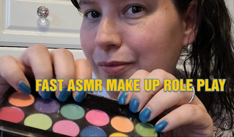 FAST ASMR – Doing your MAKE UP ..  Chaotic & Quick – MEGA AMOUNTS OF FAST Triggers!