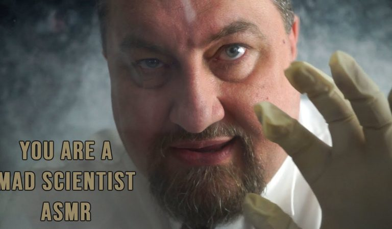 You Are A Mad Scientist!  ASMR