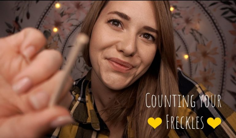 ASMR Ich zähle deine Sommersprossen 💛 Counting your Freckles 💛 Personal Attention Roleplay
