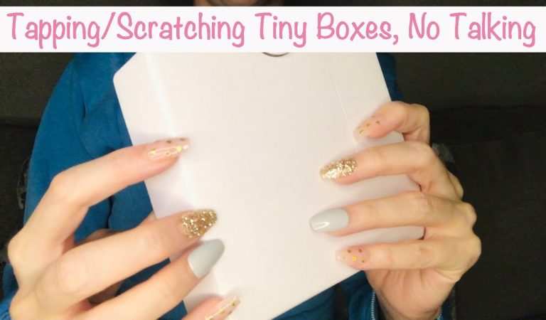 ASMR * Lots of Little Boxes * Cardboard Boxes * Fast Scratching & Tapping * No Talking * ASMRVilla