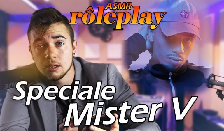 ASMR : Rp Producteur de musique ( Mister V ) 🙏🙏